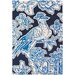 <strong>Tufted Pile Blue Toile Rug</strong> by Thomas Paul