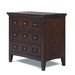 Harrison 3 Drawer Nightstand