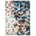 <strong>Petrol Blue Kaleidoscope Rug</strong> by URBN