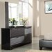 Reaction 6 Drawer Dresser by Standard Furniture