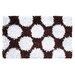 Wildon Home ® Polkamania Brown/White Kids Rug