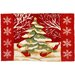 Accents Seasonal Christmas Tree Forest Novelty Rug