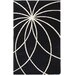 Surya Forum Black/Ivory Area Rug