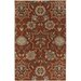 <strong>Garden Terrace Cocoa Blooms/Geometric Rug</strong> by Capel Rugs