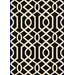 <strong>Dynamic Rugs</strong> Passion Black/White Rug