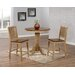<strong>Brookdale 3 Piece Counter Height Dining Set</strong> by Sunset Trading