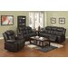 <strong>Park Avenue 3 Piece Reclining Living Room Set (Set of 3)</strong> by Sunset Trading
