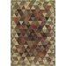 Central Oriental Images Triangle Multi Rug