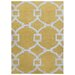 <strong>City Yellow/Ivory Geometric Rug</strong> by Jaipur Rugs