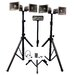 Deluxe Wireless Quad Half-Mile Hailer Kit with Heavy Duty Tripods