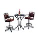 <strong>Tempo</strong> Winslow 3 Piece Counter Height Pub Table Set