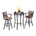 Winston Swivel Bar Height Pub Set
