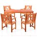 Vifah Balthazar 5 Piece Dining Set