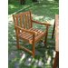 Vifah Outdoor Wood Nobi Armchair