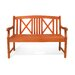<strong>Vifah</strong> Outdoor Wood Garden Bench