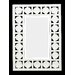 Seabreeze Wall Mirror in Antique White