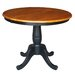 <strong>Round Pedestal Dining Table</strong> by International Concepts