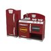 <strong>KidKraft</strong> 2 Piece Cranberry Retro Kitchen Set
