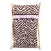 Pam Grace Creations Zara Zebra Laundry Hamper