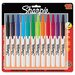 Retractable Permanent Markers (Set of 12)