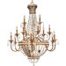 Thomasville Palais 18 Light Grand Chandelier