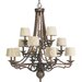 Progress Lighting Thomasville Meeting Street 12 Light Chandelier