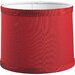 Thomasville Roxbury Red Fabric Lamp Shade