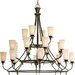 <strong>Progress Lighting</strong> Cantata 20 Light Chandelier