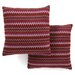 <strong>Safavieh</strong> Evan Polyester Decorative Pillow (Set of 2)
