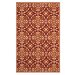 <strong>Four Seasons Red / Orange Outdoor Rug</strong> by Safavieh