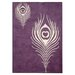 <strong>Safavieh</strong> Soho Purple / Ivory Rug