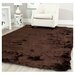 Safavieh Paris Shag Chocolate Flokati Rug