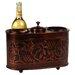 Antique Embossed 2 Bottle Wine Chiller
