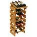 <strong>Wooden Mallet</strong> Dakota 21 Bottle Wine Rack