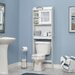 """Caraway 21.1"""" x 68"""" Over the Toilet Cabinet"""