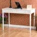 Wildon Home ® Hull Crisp White 2-Drawer Writing Desk