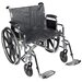 Sentra EC Heavy Duty Dual Axle Bariatric Wheelchair