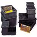 Conductive Dividable Grid Storage Containers (3 1/2&quot; H x 8 1/4&quot; W x 10 7/8&quot; D)