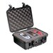 "Equipment Case with Foam: 11.5"" x 13.38"" x 6"""