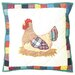 <strong>Rooster Toss Pillow</strong> by Patch Magic