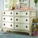 Emma's Treasures Double 6-Drawer Dresser