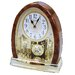Joyful Crystal Bells Table Clock