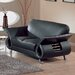 Clark Leather Loveseat