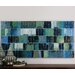 Glass Tiles Modern Wall Art