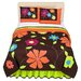 Bacati Valley of Flowers Comforter Set