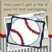 Doodlefish Sports Baseball in the News Giclee Canvas Art