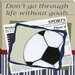 <strong>Sports Soccer in the News Giclee Canvas Art</strong> by Doodlefish