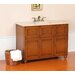 "Limburg Light Single 48"" Bathroom Vanity in Antique Oak"