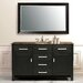 "Raffaello 60"" Single Bathroom Vanity in Dark Espresso"