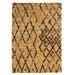 Linon Rugs Moroccan Marrakesh Camel/Brown Rug